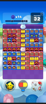 Stage 190 from Dr. Mario World