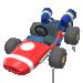 Red B Dasher from Mario Kart Tour