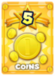 Increases the Coins earned after battle by 50%.