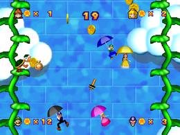 Parasol Plummet from Mario Party 3.