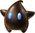 Super Mario Galaxy promotional artwork: The black Luma Polari