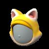 "The ""Cat Mario Headgear"" Mii headwear"