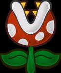 Sprite of a Piranha Plant from Super Paper Mario.