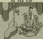 The SS Tea Cup and surrounding areas.