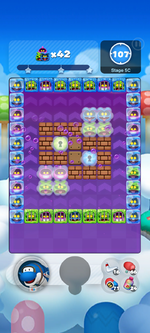 Stage 5C from Dr. Mario World