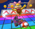 The icon of the Bowser Jr. Cup challenge from the New Year's 2021 Tour in Mario Kart Tour.
