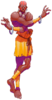 Dhalsim's Spirit sprite from Super Smash Bros. Ultimate