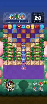 Stage 1062 from Dr. Mario World