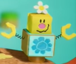 Hidden Hills' Blockafeller in Yoshi's Crafted World.