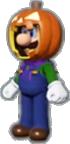 Luigi's Pumpkin Costume icon in Mario Kart Live: Home Circuit
