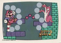 A Nintendo Game Pack scratch-off game card of Super Mario Bros. 2 (Screen 3 of 10)