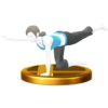 Arm & Leg Lift trophy from Super Smash Bros. for Wii U