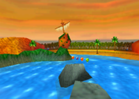 Pirate Lagoon,from Diddy Kong Racing.