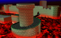 The icon for Bowser's Castle, from Mario Kart 64.