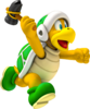 Artwork of Hammer Bro from Mario Party 8 (also used in Mario Super Sluggers, Super Mario Party and Mario Kart Tour)