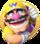 Artwork of Wario in Mario Party: Star Rush.