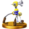 F.L.U.D.D.'s trophy render from Super Smash Bros. for Wii U
