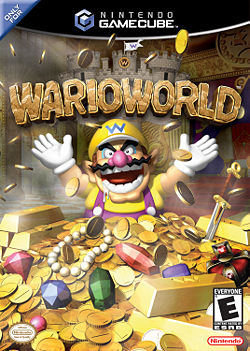 The boxart for Wario World.