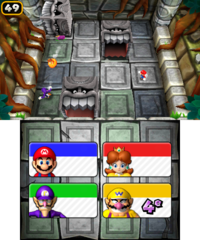 Hide 'n' Splat in Mario Party: Island Tour