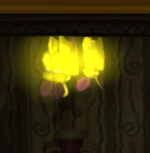 Gold Bats in the game Luigi's Mansion.