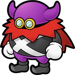 Artwork of Lord Crump from Paper Mario: The Thousand-Year Door