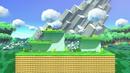 Mushroom Kingdom U stage in Super Smash Bros. Ultimate
