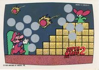 A Nintendo Game Pack scratch-off game card of Super Mario Bros. 2 (Screen 9 of 10)