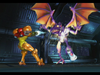 Ridley's cameo appearance in Super Smash Bros. Melee.