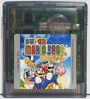 North American Super Mario Bros. Deluxe cartridge