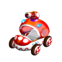 """Toad's <span style=""""color:red"""">machine</span>. Decent, but only if it were a roadster..."""