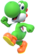 Artwork of Yoshi from Mario Party 10 (also used in Super Mario Party and Mario Kart Tour)