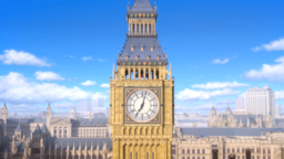 Big Ben in Mario & Sonic at the London 2012 Olympic Games