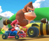 The icon of the Pauline Cup's challenge from the Flower Tour in Mario Kart Tour.
