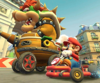 The icon of the Metal Mario Cup challenge from the 2019 Paris Tour in Mario Kart Tour