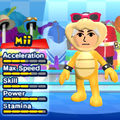 A Roy Koopa costume for Miis in the Wii version of Mario & Sonic at the London 2012 Olympic Games.