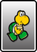 A Koopa Troopa card from Paper Mario: Color Splash
