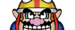 Wario character selection grid icon from WarioWare: Get It Together!