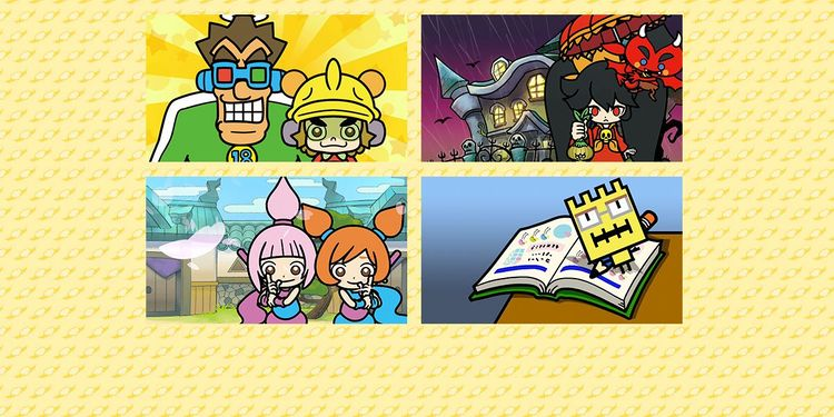 Picture shown with the third question of WarioWare Gold Fun Personality Quiz
