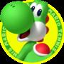Yoshi icon from Mario Tennis Open