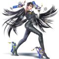 Bayonetta (SSB for N3DS - Wii U artwork).png