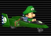 Baby Luigi's Blue Falcon