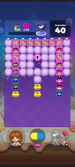 World 12's Special Stage from Dr. Mario World