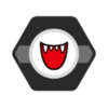 Boo's emblem from baseball from Mario Sports Superstars