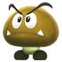 Artwork of Mini Goomba from Super Mario Galaxy 2