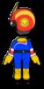 Captain Falcon Mii racing suit from Mario Kart 8