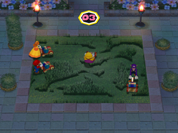 Mowtown at night from Mario Party 6
