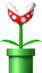 Piranha Plant from New Super Mario Bros..