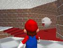 A Boo inside Mushroom Castle