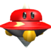 Rendered model of the Spiky Topman enemy in Super Mario Galaxy.