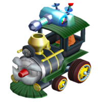 """Mario's prize <span style=""""color:red"""">machine</span>. Well-balanced, like our hero!"""